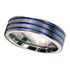 Geti Anodised Zirconium Ring