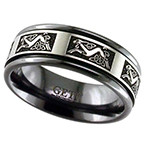 Geti Celtic Zirconium Ring