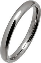 3mm Polished Titanium Court Ring