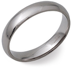 5mm Titanium Court Ring